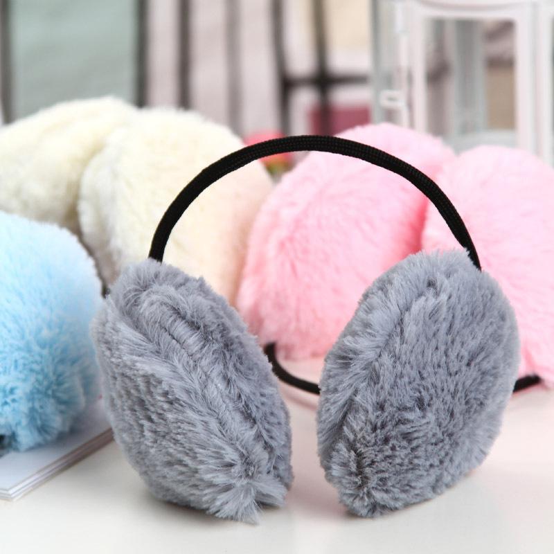 金冠 加厚加密 南韩绒耳罩 耳套 后戴式 护耳 秋冬耳暖[QL21] 价格:2.80