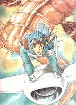 海报定做 宫崎骏8风之谷  无框画 挂画订做 海报定制 价格:5.00