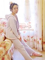 日本peach john蜜桃派软绵绵女士长袖睡衣可爱公主家居服【包邮】 价格:178.92