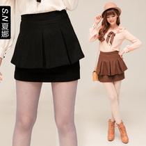 夏娜 秋冬新款半身短裙子 两色花苞羊毛呢半身女裙包臀裙 3239 价格:134.16