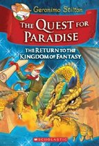 精装The Quest for Paradise Geronimo Stilton青少年小说读物 价格:128.00