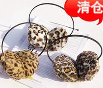 米娜  超流行韩国可爱性感豹纹耳罩 保暖耳套 价格:4.50