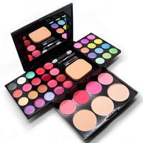开心赚宝 正品化妆粉盒彩妆盘39色彩妆套装全套组合 粉饼眼影美妆 价格:18.00