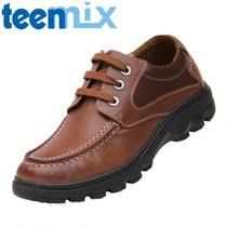 Teenmix天美意男鞋专柜正品春秋新款天美意大气增高日常休闲男鞋 价格:258.00