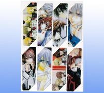 吸血鬼骑士动漫书签PVC防水书签 单面卡通书签8张一套 价格:1.00