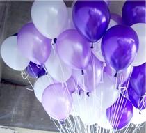 婚房婚礼生日结婚庆气球批发 韩国加厚珠光气球100只婚房布置气球 价格:9.99
