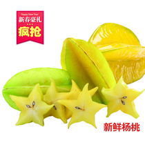 新鲜杨桃 产地直销新鲜水果 有机减肥水果 现摘现发 4.5斤/件包邮 价格:45.00
