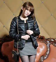 新款2013 冬装女正品罗曼斯羽绒服 简约甜美青年短款女装 价格:327.60