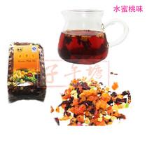 三皇冠 保真 怡爽花果茶 果粒茶 水果茶 水蜜桃味500g 果肉可吃 价格:25.00