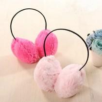 时尚毛绒耳罩 保暖绒毛耳罩 耳暖耳套 地摊货源批发  76g 价格:3.85