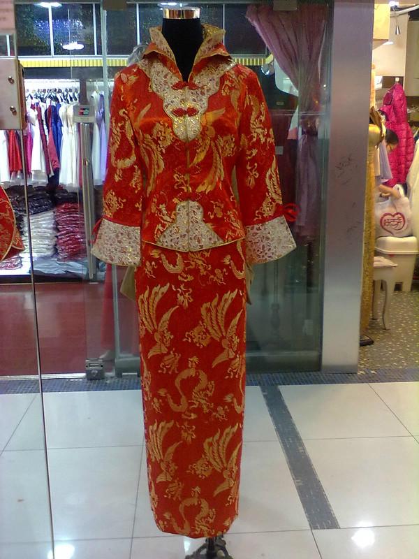特价秋冬季小凤仙新娘装 红色新娘敬酒服 新娘装冬装#厚款+内衬# 价格:159.00