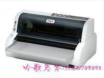 快递单会计凭证打印 OKI 5500FS+发票打印机  80列平推针式打印机 价格:1260.00