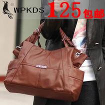 2013韩版新款啄木鸟专柜正品时尚女包单肩斜跨真皮包包特价包邮 价格:125.00
