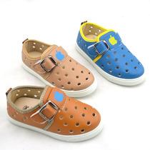 2013夏季最新款苹果韩版时尚软底儿童洞洞凉鞋 小迦龙509 26-31 价格:28.00