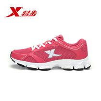 特步正品2013夏网面透气运动鞋慢跑鞋增高跑步鞋女鞋987218119217 价格:129.00