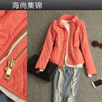 2013秋装 新款女装  知性之选 明线切格修身长袖小外套 棉衣6999 价格:385.00