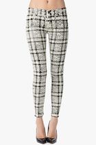 国外代购美国专柜正品 7forallmankind女牛仔裤 The Cropped 价格:1944.10