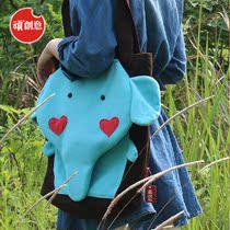 顽创意 个性单肩手提包 可爱学生帆布手提包女包大布包包 萌小象 价格:57.40