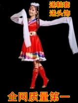 藏族服装少数民族舞蹈演出服装女装藏族舞台服装秧歌服装2013新款 价格:54.60
