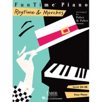 FunTime Piano, Level 3A-3B, Ragtime & Marches/Nancy Faber (A 价格:54.00
