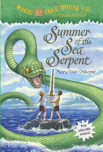 Magic Tree House #31: Summer of the Sea Serpent/玛丽•波 价格:21.84