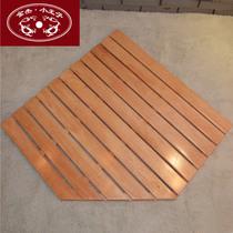金杰小王子 浴室地板 浴室防滑地垫 淋浴房地板 异形地板 可定做 价格:328.00