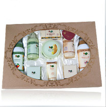 贝比拉比皇族礼盒9加1套装新生婴儿宝宝护肤礼盒 送礼佳品LGH0089 价格:136.40
