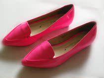 Hotwind热风女鞋2013新款专柜正品单鞋平底尖头糖果色女鞋61n3120 价格:158.00