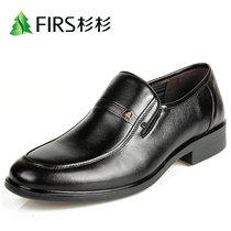 杉杉正品 商务正装男皮鞋中老年男鞋爸爸鞋头层牛皮男鞋 真皮透气 价格:139.00