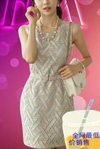 现货韩国代购2013秋装高端女装优雅魅力OL女士包臀气质修身连衣裙 价格:70.80