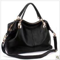 莎缇2013新款 欧美优质头层牛皮时尚女包手提包 单肩斜跨真皮包包 价格:295.36