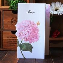 【宠儿】拾风高档商务中秋节贺卡 三折浮雕花朵 感恩大卡 批发 价格:2.40