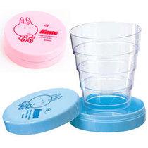 包邮振兴创意折叠水杯 伸缩刷牙杯子 迷你旅行杯 便携式压缩水杯 价格:9.40