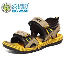 大黄蜂 童鞋 男童凉鞋2013新款儿童凉鞋男孩沙滩鞋韩版潮正品特价 价格:89.00