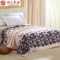 晴美家纺 珊瑚绒毯子法兰绒毛毯休闲毯空调毯加厚床单超柔特价 价格:69.00