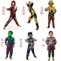 万圣节服装儿童复仇者联盟衣服钢铁侠服装雷神服装变型金刚衣服 价格:88.00