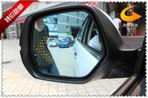 厂家直销奥迪Q3带LED转向灯多曲大视野防眩目蓝镜后视镜倒车镜 价格:213.30