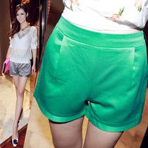 KIKOT 秋装新款 甜美气质瑞丽新款糖果色雪纺休闲百搭短裤女潮 价格:69.30