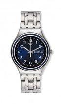 海外代购专柜斯沃琪 swatch 男式 Irony Blue Influence 手表 价格:956.01