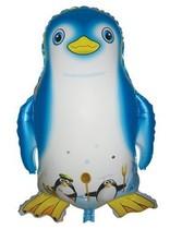 超大铝膜企鹅氢气球、卡通玩具气球、南极洲最可爱生物气球批发 价格:1.45