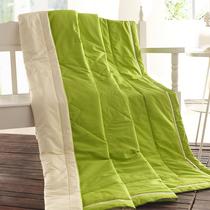 苏娜国际全棉 夏凉被 空调被 纯棉 夏被单双人儿童薄被子斜纹绗缝 价格:69.00