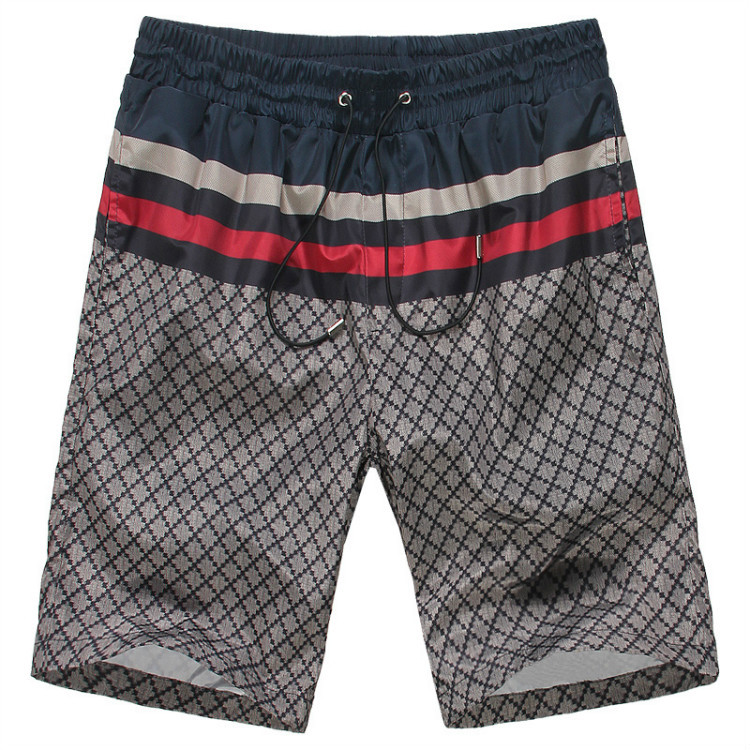 GUCCI/古奇男装新款男士短裤酷奇免烫休闲半裤沙滩裤动运裤 价格:96.00