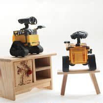 正品迪斯尼机器人总动员瓦力 瓦利WALL-E做旧版摆件6CM  现货 价格:25.00