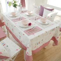 萝莉风格 小清新棉麻 桌布台布盖布茶几布餐桌巾 欧式 外贸 价格:44.10
