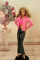 正版尾单芭比娃娃衣服。芭比可儿OB丽芙桃子复刻可穿芭比配件娃衣 价格:6.00