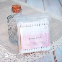 爱丽小屋 高级木杆纯净化妆棉棒 卸妆棉签 消毒棉签 化妆美容工具 价格:3.80