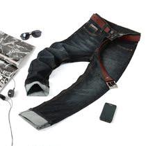 高档水洗深蓝色 直筒男式牛仔裤 男 修身小直筒牛仔裤子 价格:108.00
