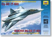 【面具未来】红星ZVEZDA   1/72  俄罗斯T-50隐身战斗机  [7275] 价格:88.00