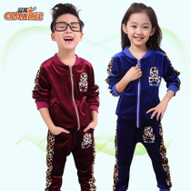 【VIP专享活动】童装女童男童秋装2013潮新款韩版款儿童运动套装 价格:69.00