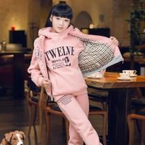 童装 女童 冬装2013新款秋装韩版运动套装中大童儿童休闲三件套装 价格:169.00